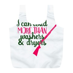 I Can Load More Than Washers And Dryers Full Print Recycle Bags (l)  by CraftyLittleNodes
