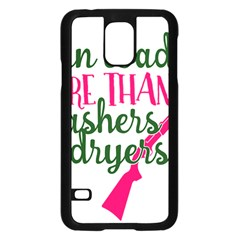 I Can Load More Than Washers And Dryers Samsung Galaxy S5 Case (Black) by CraftyLittleNodes