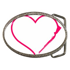 Customizable Shotgun Heart Belt Buckles by CraftyLittleNodes