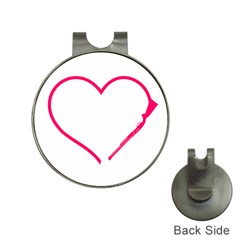 Customizable Shotgun Heart Hat Clips With Golf Markers by CraftyLittleNodes