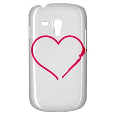 Customizable Shotgun Heart Samsung Galaxy S3 MINI I8190 Hardshell Case by CraftyLittleNodes