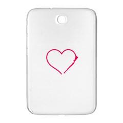 Customizable Shotgun Heart Samsung Galaxy Note 8 0 N5100 Hardshell Case  by CraftyLittleNodes