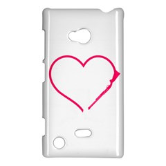 Customizable Shotgun Heart Nokia Lumia 720 by CraftyLittleNodes