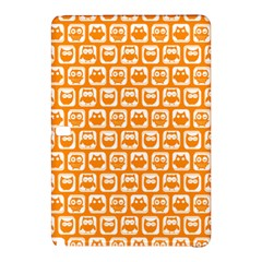 Yellow And White Owl Pattern Samsung Galaxy Tab Pro 12 2 Hardshell Case