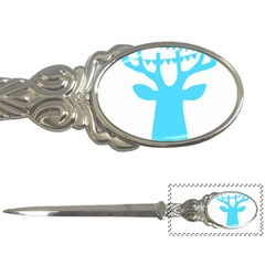 Party Deer With Bunting Letter Openers by CraftyLittleNodes