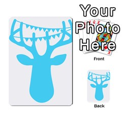 Party Deer With Bunting Multi Purpose Cards (rectangle)  by CraftyLittleNodes