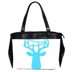 Party Deer With Bunting Office Handbags (2 Sides)  by CraftyLittleNodes