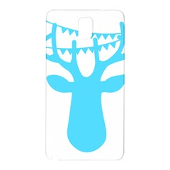 Party Deer With Bunting Samsung Galaxy Note 3 N9005 Hardshell Back Case by CraftyLittleNodes