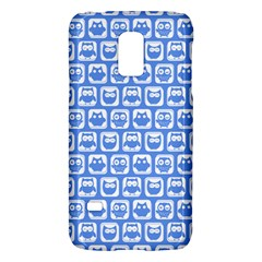 Blue And White Owl Pattern Galaxy S5 Mini by creativemom