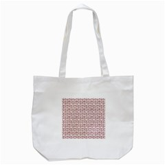 Light Pink And White Owl Pattern Tote Bag (white)  by creativemom