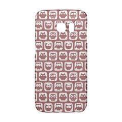 Light Pink And White Owl Pattern Galaxy S6 Edge by creativemom