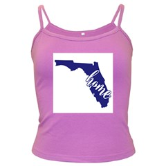 Florida Home  Dark Spaghetti Tanks by CraftyLittleNodes