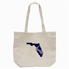 Florida Home  Tote Bag (cream)  by CraftyLittleNodes