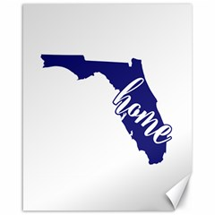 Florida Home  Canvas 16  X 20   by CraftyLittleNodes