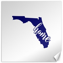 Florida Home  Canvas 20  X 20   by CraftyLittleNodes