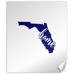 Florida Home  Canvas 20  X 24   by CraftyLittleNodes