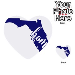 Florida Home  Multi Purpose Cards (heart)  by CraftyLittleNodes