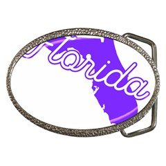 Florida Home State Pride Belt Buckles by CraftyLittleNodes