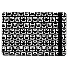 Black And White Owl Pattern Ipad Air 2 Flip by creativemom