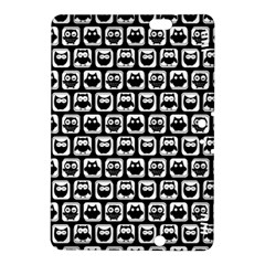 Black And White Owl Pattern Kindle Fire HDX 8.9  Hardshell Case by creativemom