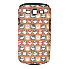 Colorful Whimsical Owl Pattern Samsung Galaxy S Iii Classic Hardshell Case (pc+silicone) by creativemom