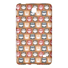 Colorful Whimsical Owl Pattern Samsung Galaxy Tab 4 (7 ) Hardshell Case  by creativemom