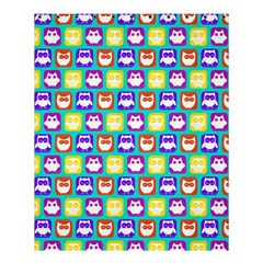 Colorful Whimsical Owl Pattern Shower Curtain 60  X 72  (medium)  by creativemom