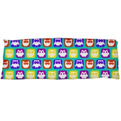 Colorful Whimsical Owl Pattern Body Pillow Cases Dakimakura (two Sides)  by creativemom