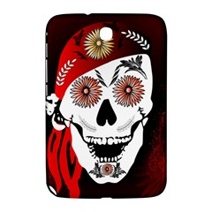 Funny Happy Skull Samsung Galaxy Note 8 0 N5100 Hardshell Case  by FantasyWorld7