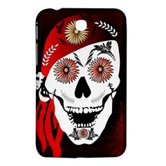 Funny Happy Skull Samsung Galaxy Tab 3 (7 ) P3200 Hardshell Case  by FantasyWorld7