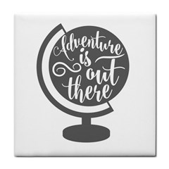 Adventure Is Out There Tile Coasters by CraftyLittleNodes