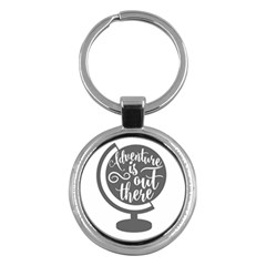 Adventure Is Out There Key Chains (round)  by CraftyLittleNodes