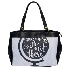 Adventure Is Out There Office Handbags by CraftyLittleNodes