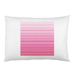 Pink Gradient Chevron Pillow Cases by CraftyLittleNodes