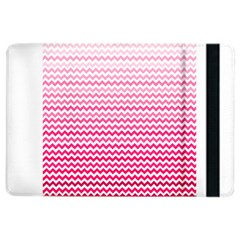 Pink Gradient Chevron Ipad Air 2 Flip by CraftyLittleNodes