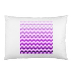 Purple Gradient Chevron Pillow Cases (two Sides) by CraftyLittleNodes