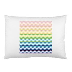 Pastel Gradient Rainbow Chevron Pillow Cases (two Sides) by CraftyLittleNodes