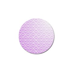 Purple Damask Gradient Golf Ball Marker (10 Pack) by CraftyLittleNodes