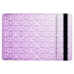 Purple Damask Gradient iPad Air Flip by CraftyLittleNodes