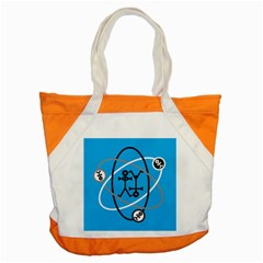 Life Icon  Accent Tote Bag  by thisisnotme