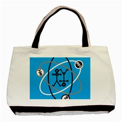 Life Icon  Basic Tote Bag (two Sides)  by thisisnotme