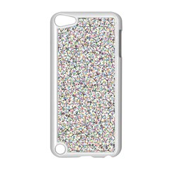 Crowd Icon Random Cmyk Apple iPod Touch 5 Case (White) by thisisnotme