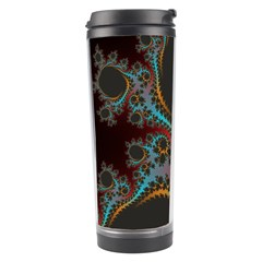 Dream In Fract Travel Tumblers by theunrulyartist