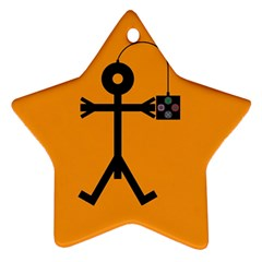 Video Gaming Icon Ornament (star)  by thisisnotme