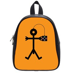 Video Gaming Icon School Bags (small)  by thisisnotme