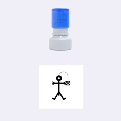 Video Gaming Icon Rubber Round Stamps (small) by thisisnotme