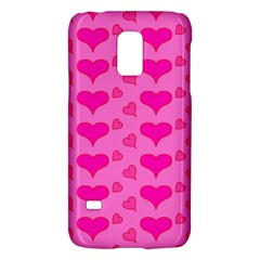 Hearts Pink Galaxy S5 Mini by MoreColorsinLife