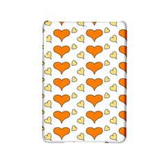 Hearts Orange Ipad Mini 2 Hardshell Cases by MoreColorsinLife