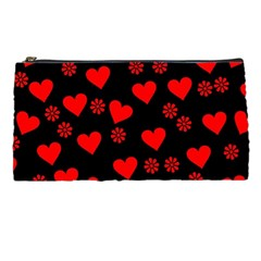 Flowers And Hearts Pencil Cases by MoreColorsinLife