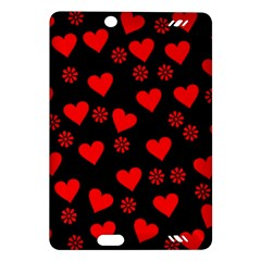 Flowers And Hearts Kindle Fire HD (2013) Hardshell Case by MoreColorsinLife